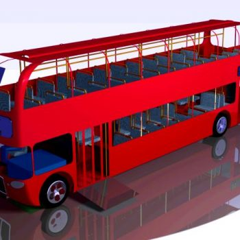3D model of a London Bus