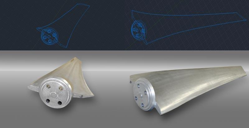 Reverse Engineering - Large fan blade